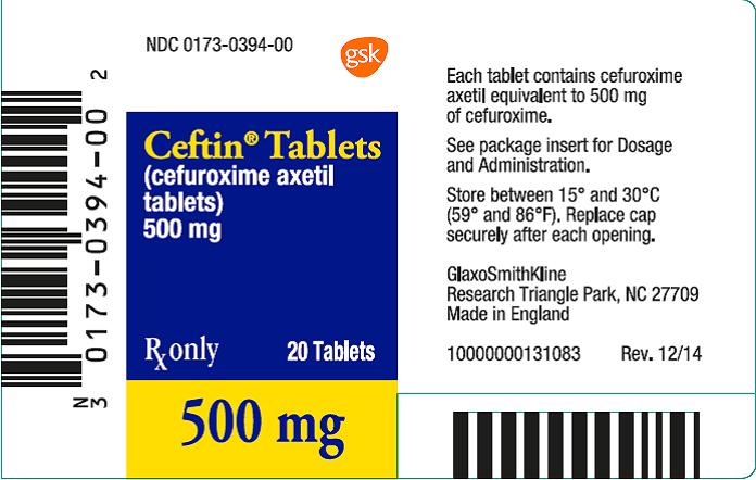 Ordering Ceftin Online In Canada