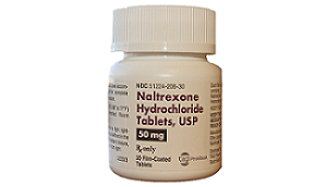 Naltrexone (Revia)