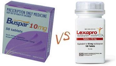 buspar-vs-lexapro